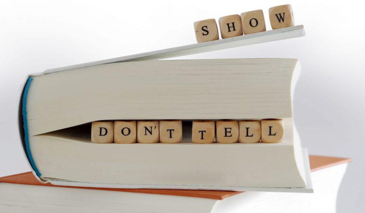 Show, don't tell: maak concreet wat je klant koopt