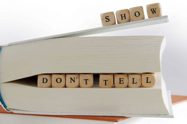 Show, don't tell in content marketing